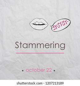 International festival of stuttering