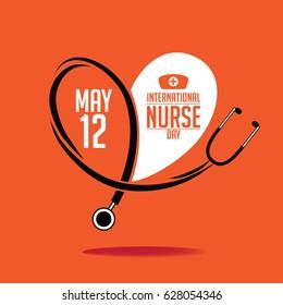 International Nurse Day icon design.