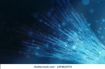 Internet binary data code computing or transmission process,Internet data transmission, Binary Code Background, Digital Abstract technology background