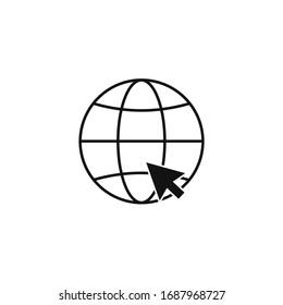Internet icon and illustration icon