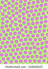 Interplay design. Party pattern. Throng with comic moods.