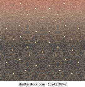 Intricate mesh pattern on fabric