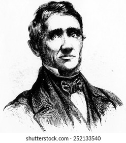 Inventor Charles Goodyear (1800-1860).