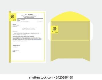 Invitation, envelope, name card, & sertifikat