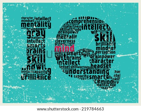 IQ Pattern Poster Made Synonym Words Stock Illustration 40 Amazing Synonym For Pattern