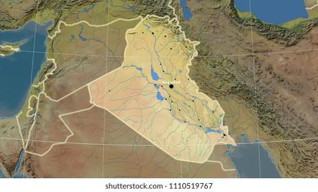 Baghdad Map Images Stock Photos Vectors Shutterstock