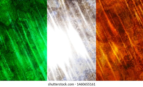 Ireland Flag for Print, Wallpaper Purposes, Size : 7680(Width) x 4320(Height) Pixels, 300 dpi, Jpg Format