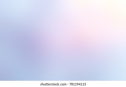 Iridescent gleam empty background. Yellow, pink, violet blurred texture. Lavender color abstract illustration. Delicate glow. Festive trend.