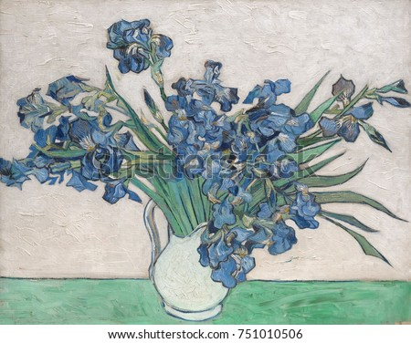 Irises by Vincent Van