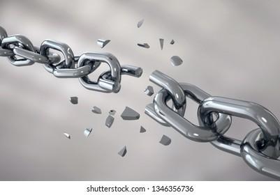 the iron chain is broken