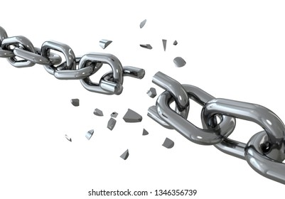 the iron chain is broken