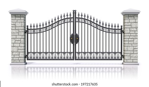 Front Gate Images Stock Photos Amp Vectors Shutterstock