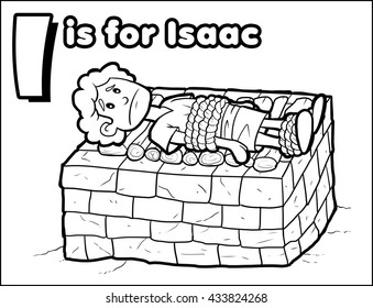 I is for Isaac Coloring Activity