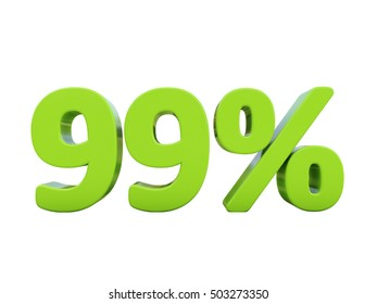 Isolated 99 Percent Discount 3d Sign on White Background, Special Offer 99% Discount Tag, Sale Up to 99 Percent Off, Sale Symbol, Special Offer Label, Sticker, Tag, Badge, Emblem, Web Icon