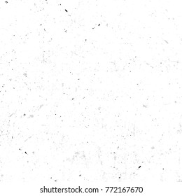 Isolated abstract speckled white seamless texture with dirty effect illustration, old wallpaper background
