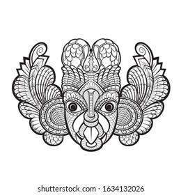 Sri Lanka Mask Dance Images Stock Photos Vectors Shutterstock