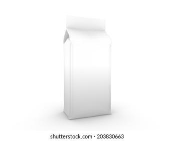 isolated food bag coffee bag use stock illustration 202746508