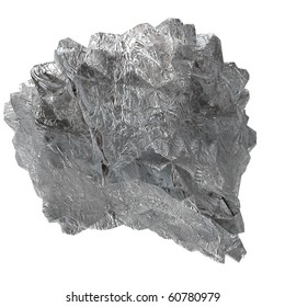 isolated iron ore mineral