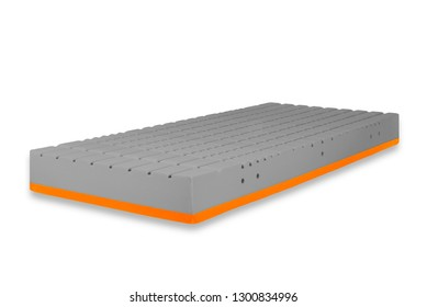 Isolated Mattress 3d collection rotation