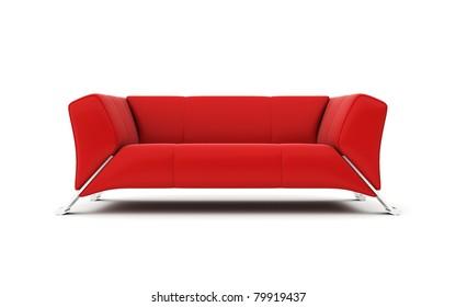 Ilustraciones, imágenes y vectores de stock sobre Modern Red Sofas ...