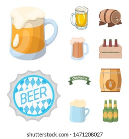 Isolated object of minimal and pint icon. Set of minimal and craft bitmap icon for stock.