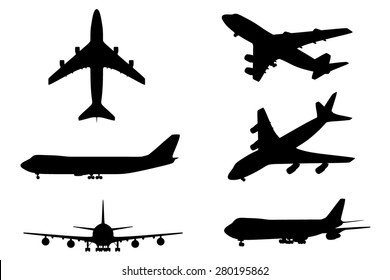 Isolated plane collection 6in1