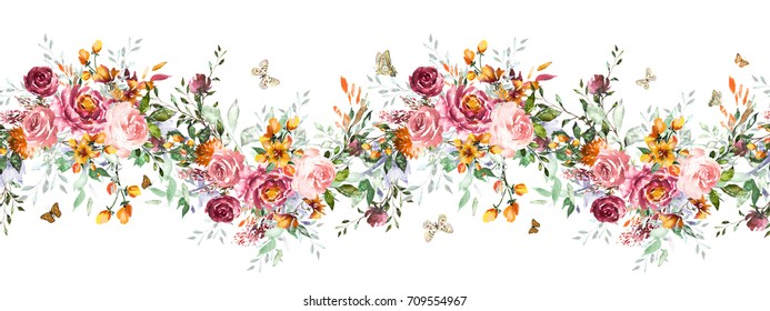 isolated-seamless-border-pink-flowers-26