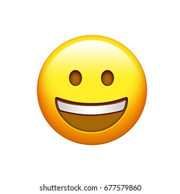 Happy Emoji Images, Stock Photos & Vectors | Shutterstock