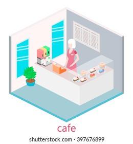 vector isometric room light green sofa stock vector royalty free rh shutterstock com