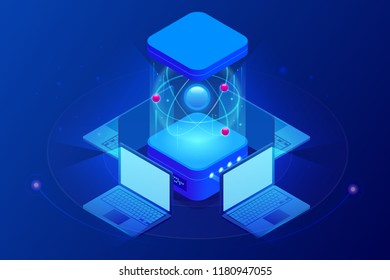 Isometric Quantum computing or Supercomputing. A quantum computer is a device that performs quantum computing.