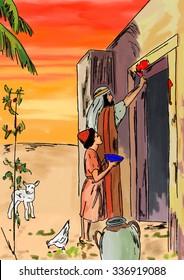 Israelite blood sweeps