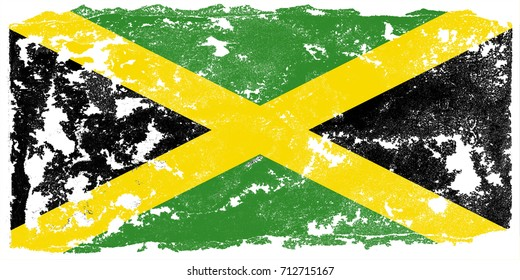 JAMAICA FLAG COUNTRY Metal License Plate Frame Tag Border Four Holes