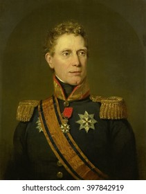Jan Willem Janssens, Governor-General of the Dutch East Indies, 1811, by Jan Willem Pieneman, Dutch painting, oil on canvas. He was a nobleman, soldier, and statesman, who also served as the Governor