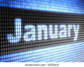 January. Calendar Full collection of icons like that is in my portfolio