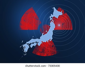 Japan facing a nuclear disaster caused by earthquake in 2011.