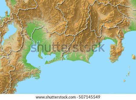 Japan Map Aichi Nagoya Stock Illustration 507145549 - Shutterstock