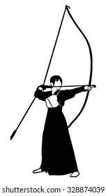 Japanese archery,Bow, archery
