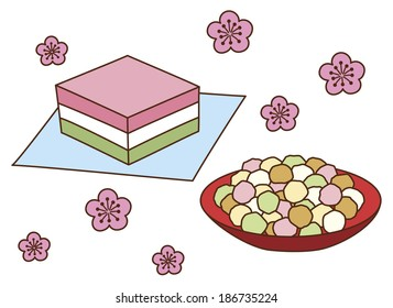 Japanese cakes
