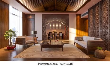 Japanese design. Japanese interior. Modern japan interior design