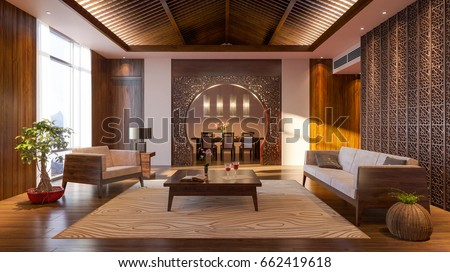Royalty Free Stock Illustration Of Japanese Design Japanese Interior