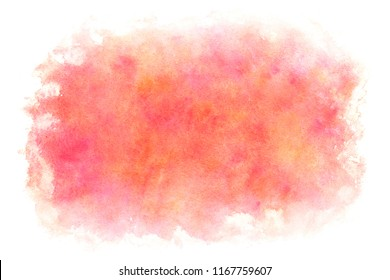 Japanese new year pink watercolor abstract or vintage paint background