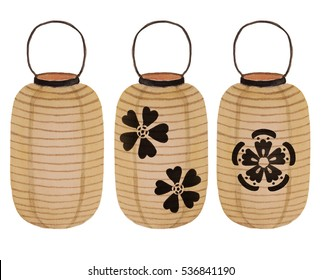 Japanese Paper Lantern Images, Stock Photos & Vectors | Shutterstock