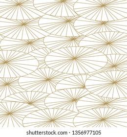 Japanese pattern . Umbrella background. Japanese patterns set