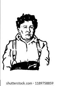 Jaroslav HASEK the Czech writer of the good soldier Schweik