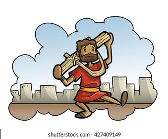 Jeremiah wears a yoke
