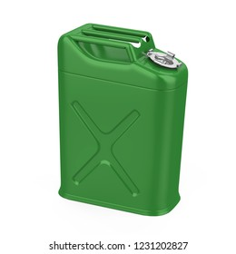 Jerry Can Isolated. 3D rendering