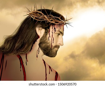 Jesus Before the Crucifixion - Digitally Produced