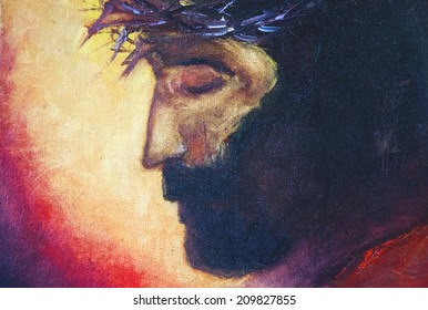 Jesus Christ  oil painting