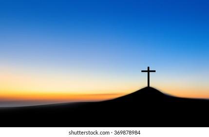 jesus cross bible