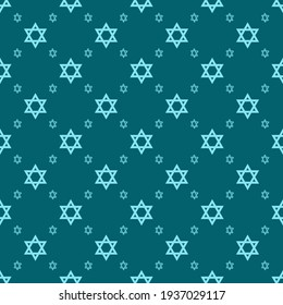 A Jewish Star of David pattern for beautiful spiritual interior design for synagogues, for beautiful traditional decoration of festive national events or religious ceremonies on special occasions